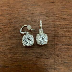 Premier Designs Silver Earrings